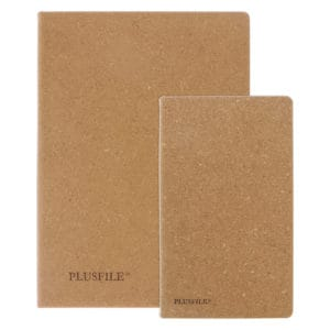 Recycled Leather Notebook Set