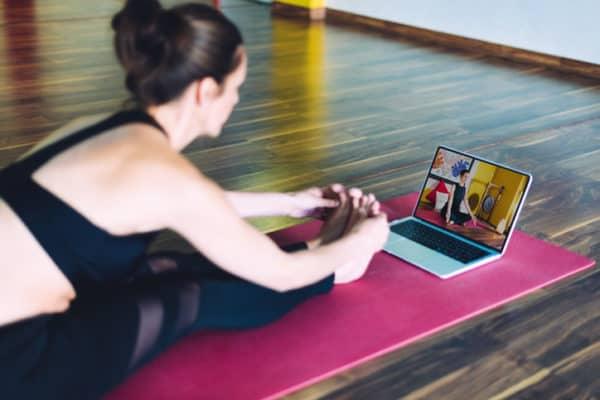 Virtual fitness class
