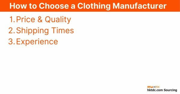 How to Find Clothing Manufacturers for Your Business in 2021